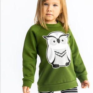 EUC Whistle and Flute owl sweatshirt 🦉